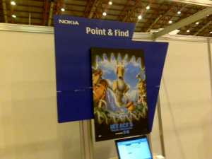 Nokia Point & Find connects offline to online